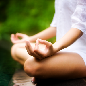 Meditation at Bamboo Garden Yoga